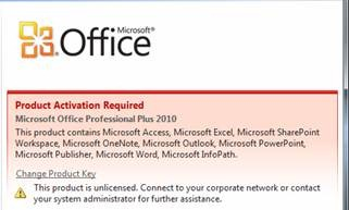 activating microsoft office 2010 by phone